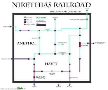 Nirethia Railroad