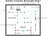 Nirethias Railroadsystem