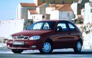 1999 Daewoo Lanos 2DR Hatchback