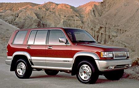 2002 Honda Civic Mpg >> Isuzu Trooper | Cars of the '90s Wiki | FANDOM powered by ...