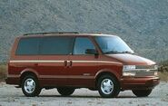 1998 Chevrolet Astro Passenger Van