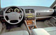 Ls400 interior