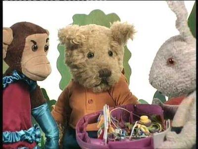 P.B. bear and friends
