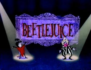 Beetlejuice Title Card