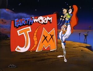 Earthworm Jim Title Card