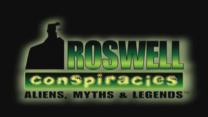 Roswell Conspiracies Title Card