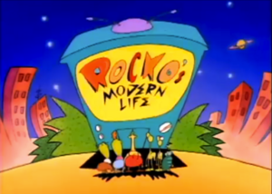 Rocko's Modern Life Title Card