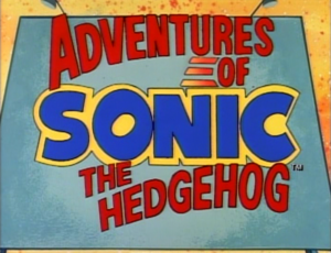 Adventures of Sonic the Hedgehog Title Card