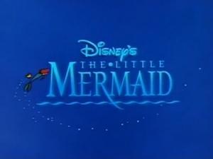 The Little Mermaid Title Card