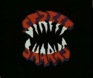Street Sharks Title Card