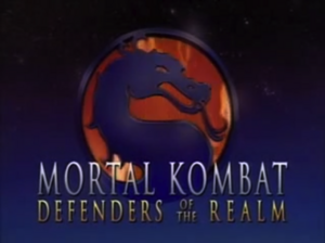Mortal Kombat Defenders of the Realm Title Card