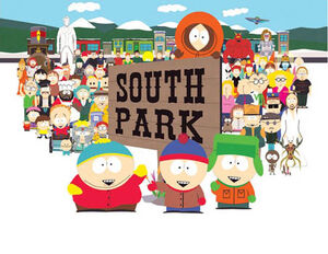 South Park Title Card