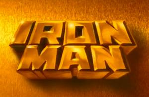 Iron Man Title Card
