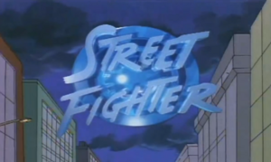 Street Fighter Title Card