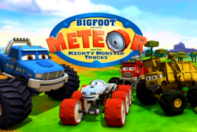 Meteor and the mighty monster trucks