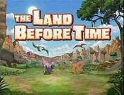 The Land Before Time Title Card