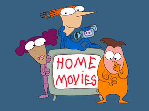 Home Movies Title Card