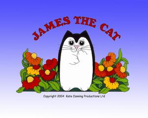 James the Cat (Wallpaper)