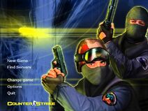 Counter-Strike title screen