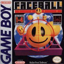 Faceball 2000 Game Boy cover