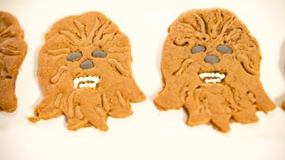 How to Make a Wookiee Cookie Inspired by Star Wars