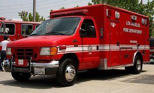 LAFD-Ambulance