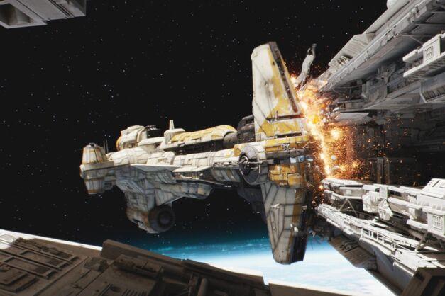 Star Wars Ships Hammerhead Corvette