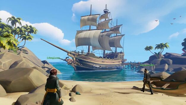 Sea of Thieves xbox exclusives