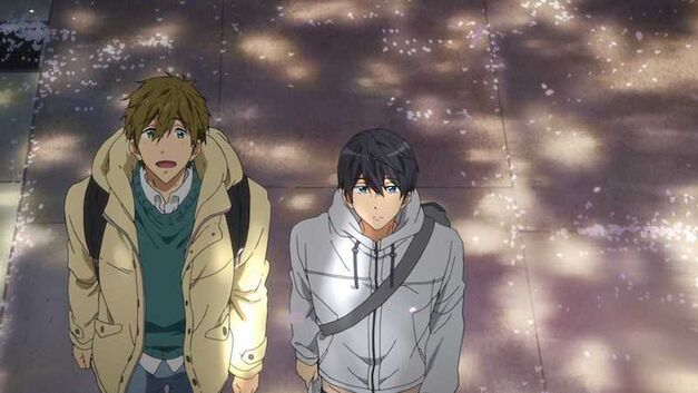 Free! Take Your Marks Makoto and Haru