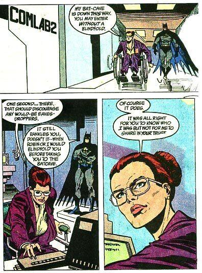 batgirl trust issues