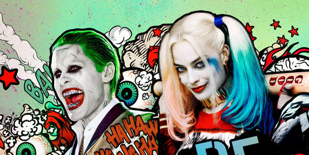 Harley Quinn and the Joker from Suicide Squad