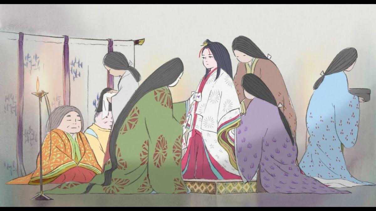 Kaguya and Mom, The Tale of Princess Kaguya