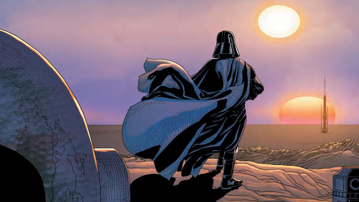 Darth Vader on Tattooine - Darth Vader #7