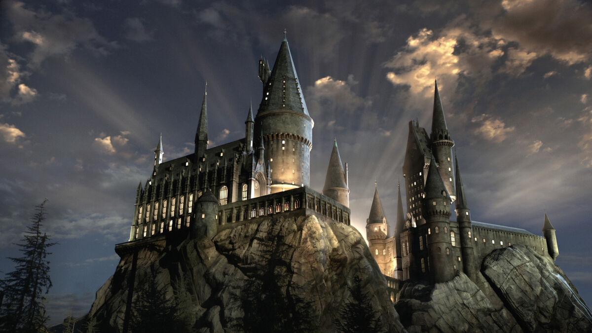Hogwarts castle.