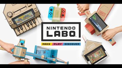 Nintendo Labo Turns Cardboard Into Magic and Kids Into Coders