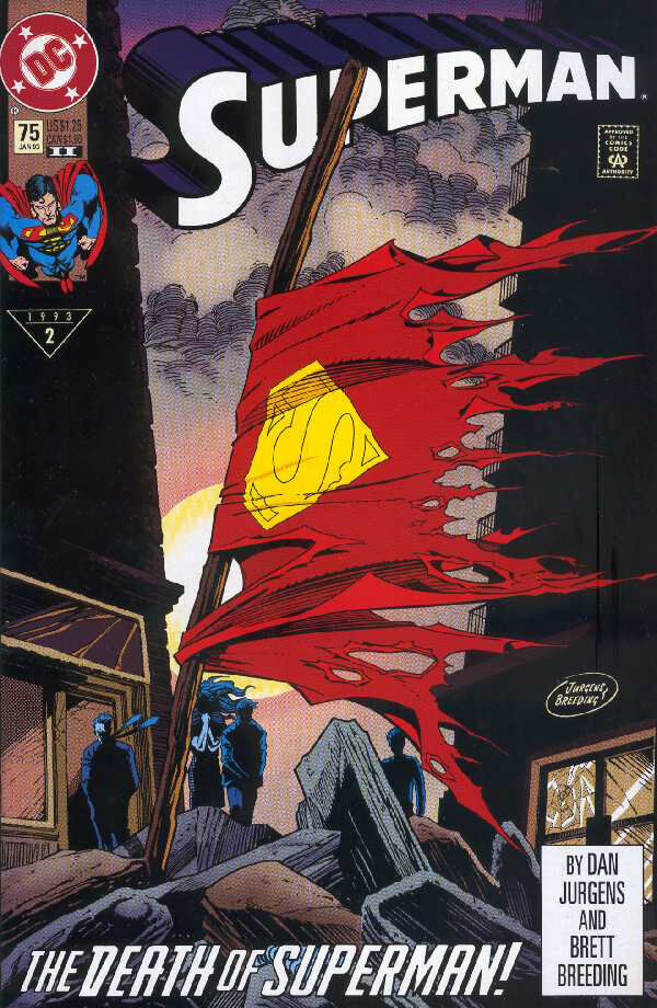 death-of-superman-comic