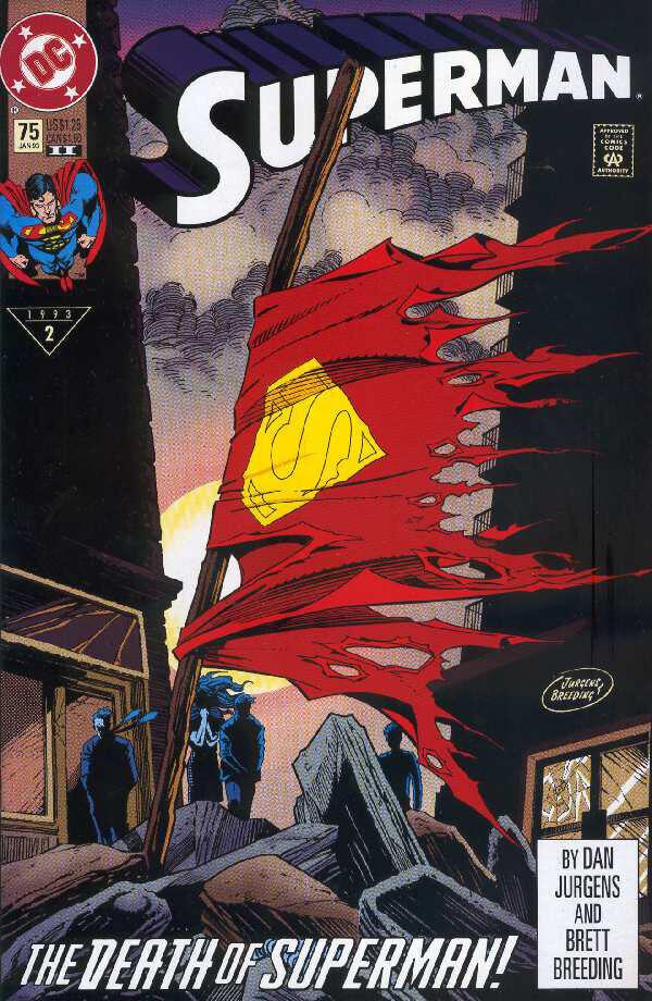 death-of-superman-comic