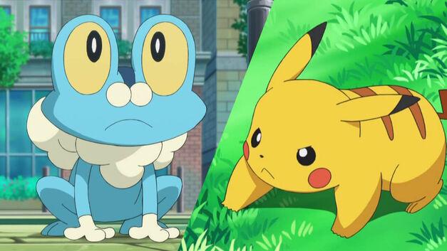Froakie vs Pikachu