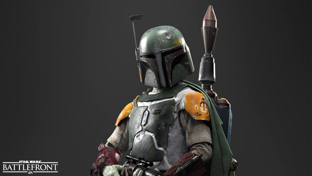Boba Fett in Star Wars Battlefront