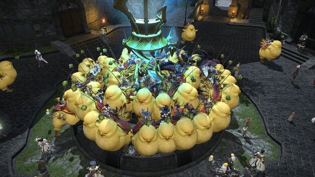 If Fat Chocobo parties are a thing, FFXIV is the MMORPG for you.