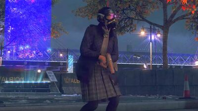 This Grandma Assassin from 'Watch Dogs: Legion' Is the Breakout Hero of E3