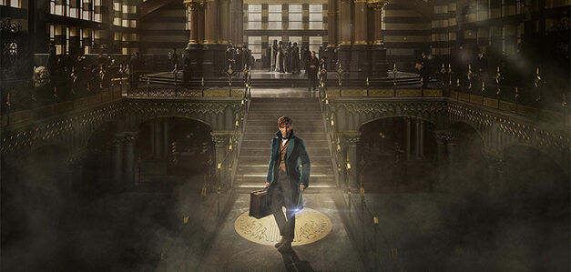 Fantastic Beasts station