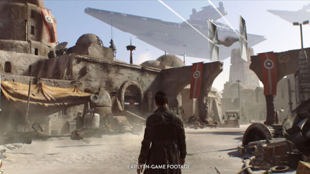Visceral Star Wars game snippet
