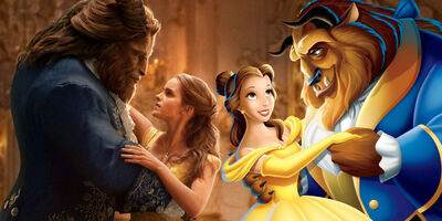 The 'Beauty and the Beast' Trailer Looks Just Like the Original