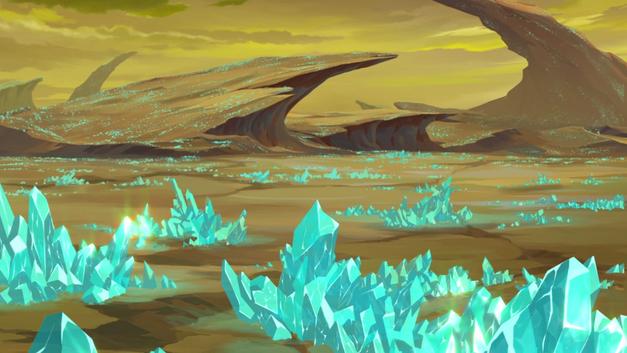 Balmera crystals