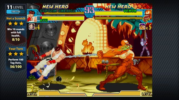 Marvel vs Capcom Superhero Fighting Games