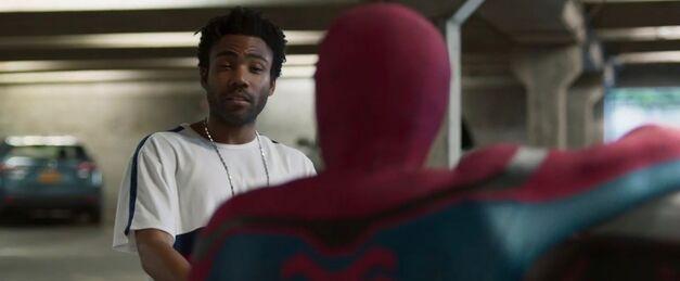 Spiderman_Donald Glover