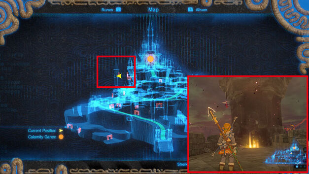 Location - Memory 12 - Hyrule Castle