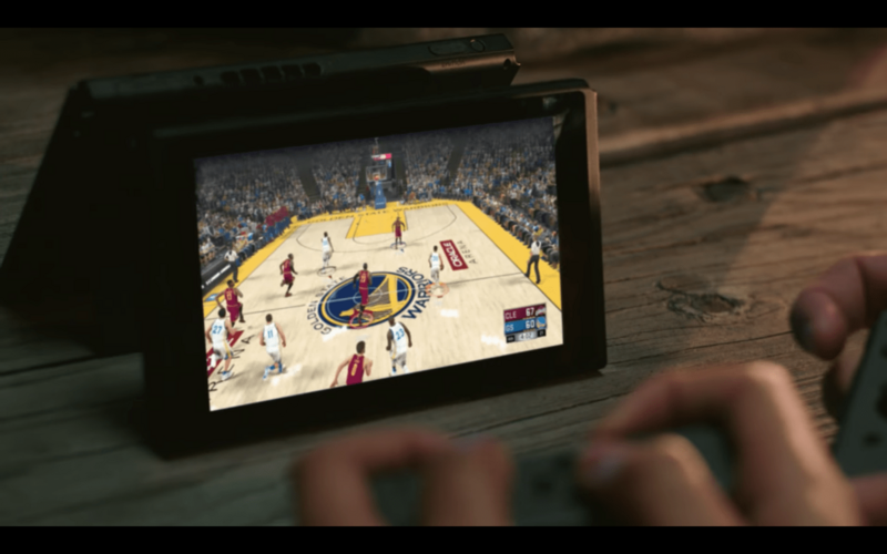 Nintendo Switch Joy-Con Controller NBA