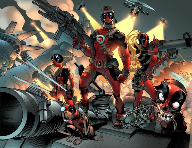 You can never have enough Deadpools